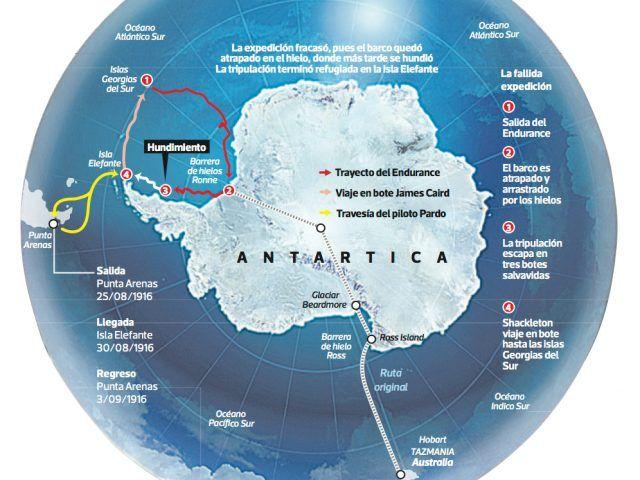 """¿Sabías que…? El último gran desafío """"Resistir"""" Shackleton"""